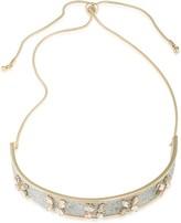 ABS by Allen Schwartz Glitter Collar Necklace, 12