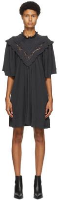 Etoile Isabel Marant Black Inalio Dress