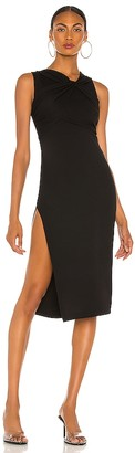 NBD Twisted Midi Dress