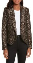 Smythe Women's Anytime Leopard Jacquard Blazer