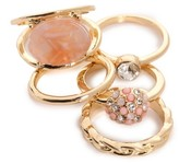 Kelly & Katie Blush Ring Set - Size 7