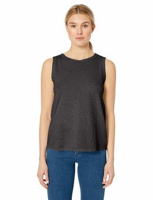 Velvet by Graham & Spencer Women's Taurus Cotton slub Tank