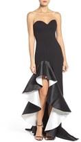Jovani Women's Asymmetrical Sweetheart Gown