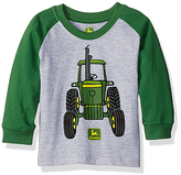 John Deere Gray & Green Big Tractor Long-Sleeve Tee - Infant & Toddler