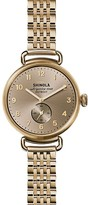 Shinola Canfield Bracelet Watch, 38mm