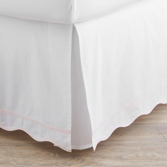 Pottery Barn Teen Classic Scallop Trim Organic Bedskirt