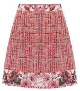Dolce & Gabbana Wool-blend tweed skirt