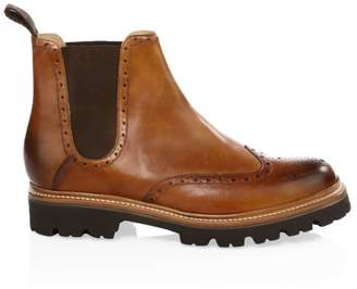Grenson Arlo Wingcap Brogue Chelsea boots