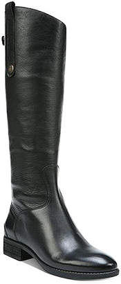 Sam Edelman Penny 2 Wide Calf Riding Leather Boots Women Shoes