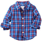 Joe Fresh Plaid Shirt (Baby Boys)