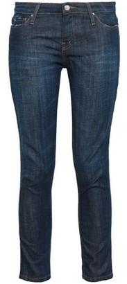 IRO Cropped Low-rise Slim-leg Jeans