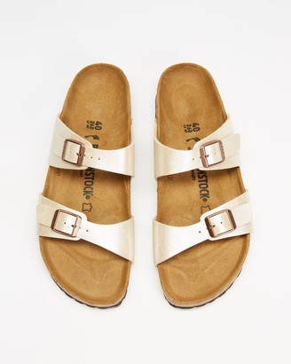 Birkenstock Women's White Strappy sandals - Sydney Graceful Narrow - Women's - Size 36 at The Iconic