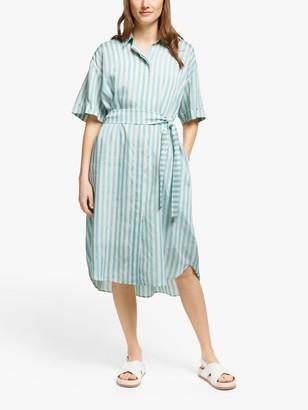Paul Smith Stripe Shirt Dress, Light Blue
