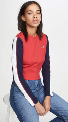 Fila Amouk Long Sleeve Crop Top