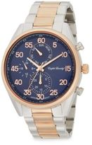 English Laundry Two-Tone Stainless Steel Chronograph Watch
