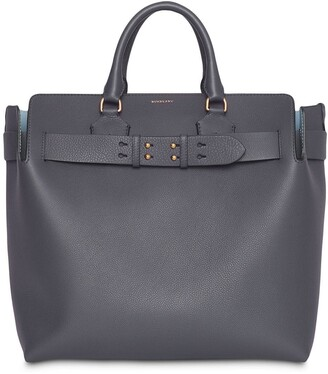 Burberry large belted tote