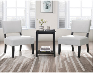ACME Furniture Bryson 3Pc Pack Chair & Table