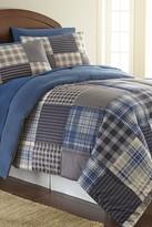 Micro Flannel Comforter Set - Smokey Mt. Plaid