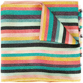 Paul Smith glittery striped scarf - women - Silk/Polyamide - One Size
