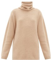LAUREN MANOOGIAN Horizontal Cowl-neck Baby-alpaca Sweater - Womens - Beige