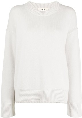 Sminfinity Long-Sleeve Knitted Jumper