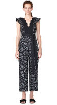 Rebecca Taylor Moonflower Embroidered Jumpsuit