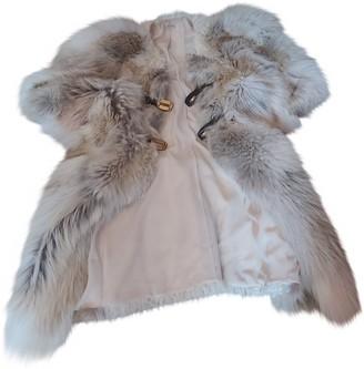 Miu Miu Beige Fur Coat for Women