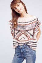 Love Sam Embroidered Gretel Top
