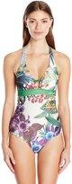 Desigual Women's Caribe One Piece Swimsuit