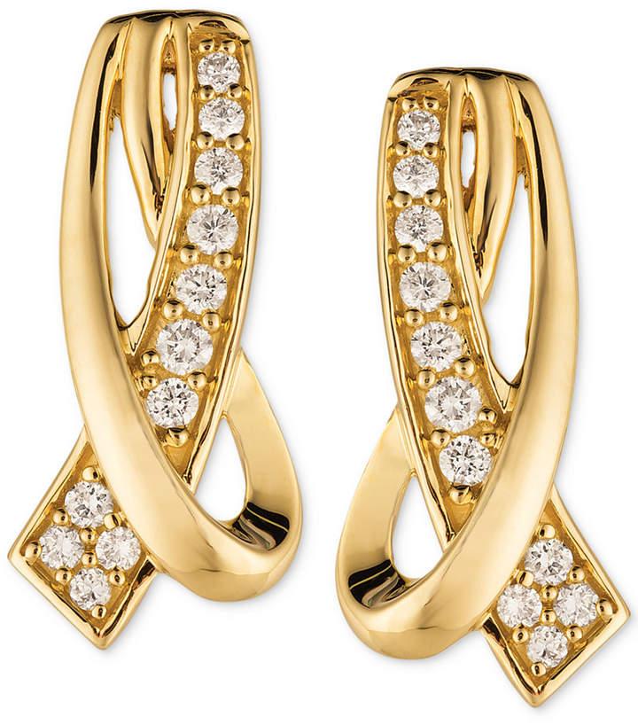 e0ec16e82 Gold Cross Earrings - ShopStyle