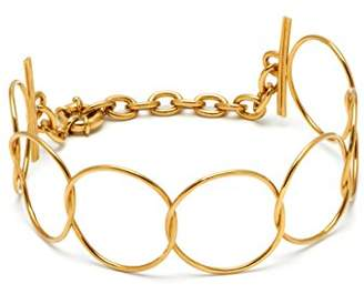 Maria Francesca Pepe Gold Plated Rigid Hoops Choker