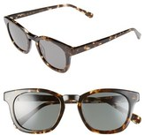 Raen Men's 'Suko' 48Mm Retro Sunglasses - Brindle Tortoise/ Gold/ Silver