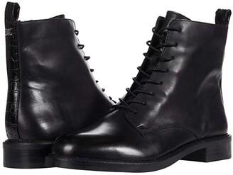 Sam Edelman Nina (Black Bally Premium Leather) Women's Shoes
