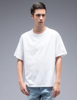 Marni Classic S/S T-Shirt With Woven Back Panel