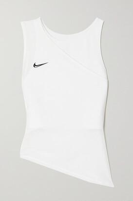 Nike Advantage Slam Layered Mesh And Dri-fit Tank