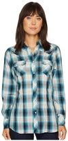 Roper 1236 Old Glory Plaid Women's Clothing