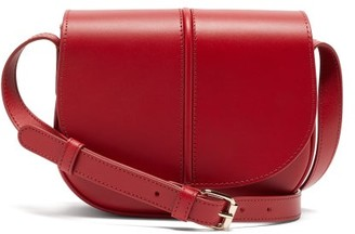 A.P.C. Betty Smooth-leather Cross-body Bag - Red