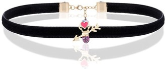 Daniela Villegas Love Arrow choker