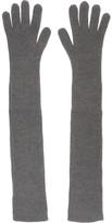 Stella McCartney Ribbed wool gloves