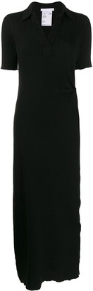 Helmut Lang Ribbed Mid-Length Dress