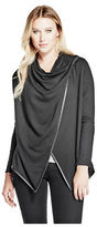 GUESS Women's Chelsea Long-Sleeve Poncho