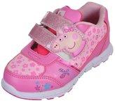 "Peppa Pig Girls' ""Piggy Straps"" Light-Up Sneakers"