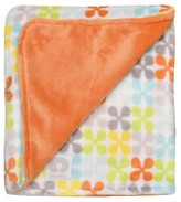 Boppy Reversible Plush Baby Blanket - Orange