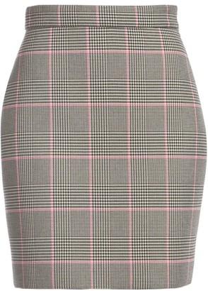 MSGM Houndstooth Mini Skirt
