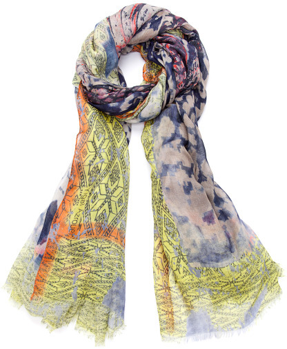Yigal Azrouel Snake Printed Scarf