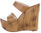 Casadei Platform Wedge Sandals