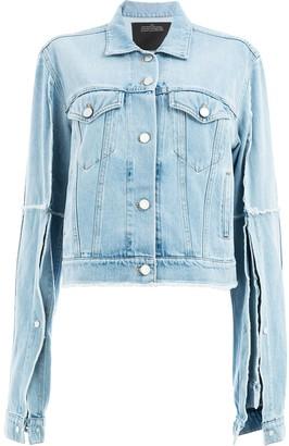 Rokh short denim jacket