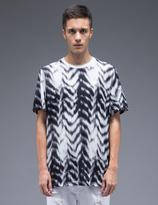 Stampd Black S/S Herring Printed T-Shirt