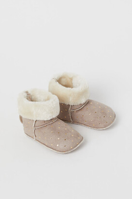H&M Soft Slippers - Brown