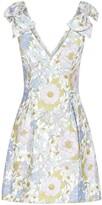 Zimmermann Floral Print Bow Detail Dress
